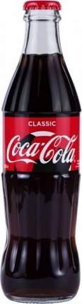 Напиток сильногазированный Coca-Cola сlassic стекло 0.33 л
