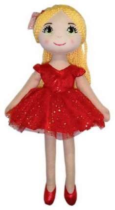 Кукла Creation Manufactory Балерина мягконабивная в красной пачке, 40 см