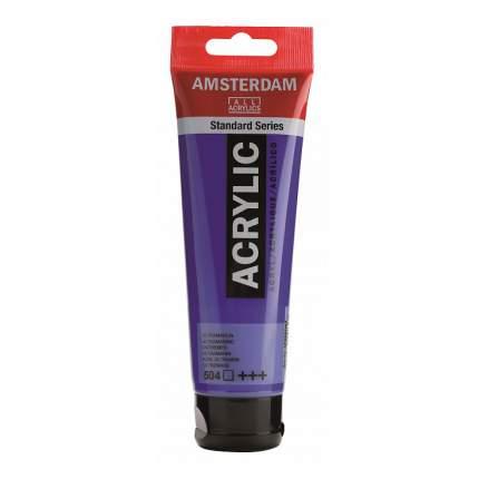 Акриловая краска Royal Talens Amsterdam №504 ультрамарин 120 мл