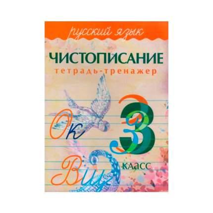 Чистописание, тетрадь-Тренажер, Русский Язык, 3 кл, латынина, 6+ (Фгос)