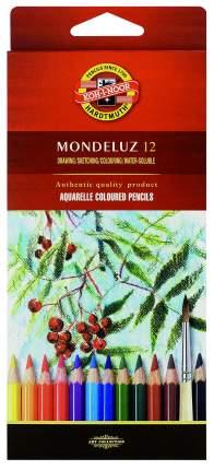 Карандаши цветные Koh-I-Noor Mondeluz 12 цветов