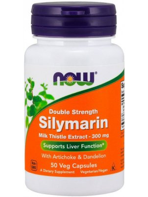 NOW Foods Silymarin  300mg 50 vcap (50 капс)