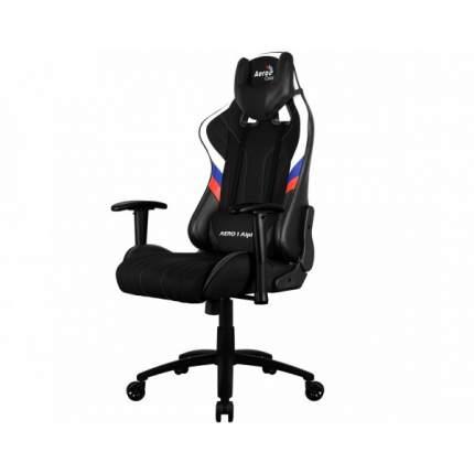 Игровое кресло AeroCool AERO 1 Alpha, черный/белый/синий/красный