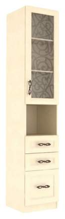 Платяной шкаф Любимый Дом LD_43037 44х46х226, кожа ленто рустика