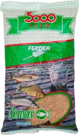 Прикормка Sensas 3000 Club Feeder, 1 кг