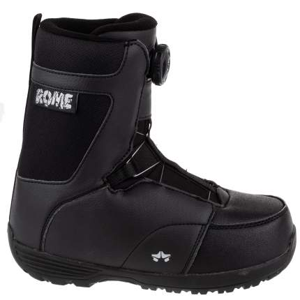 Ботинки для сноуборда Rome Mini Shred 2020, black, 22