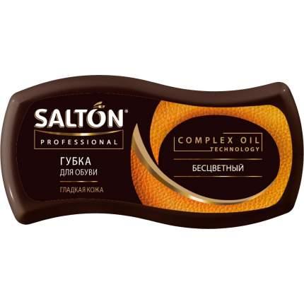 Губка для обуви Salton Professional Волна для гладкой кожи бесцветная