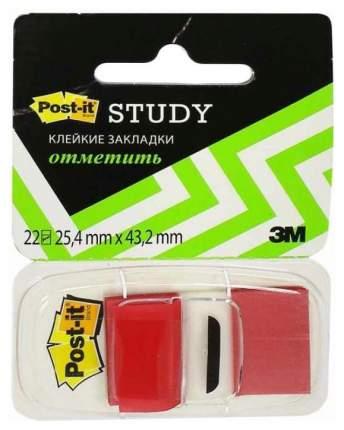 Клейкие закладки Post-It 3M Красные