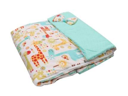 Спальный мешок детский Amarobaby Magic Sleep 100х47 Жирафики