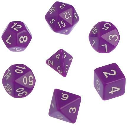Кубики для настольных игр Sima-Land 4352147 7 шт
