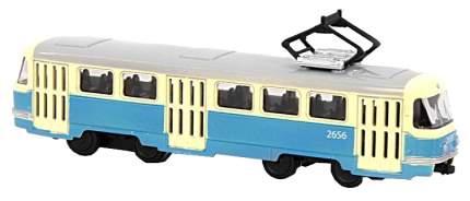 Трамвай метал. инерц. М1:54 в, к 19,5x5x8 см
