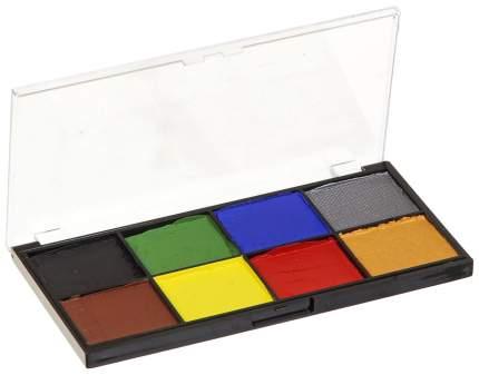 Набор красок аквагрим, 8 цветов, золото, серебро 800-56920 Фабрика фантазий