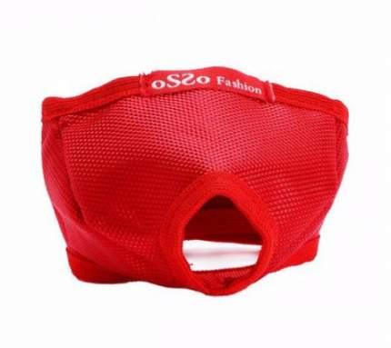 Намордник для кошек OSSO Fashion, красный, S, вес кошки от 0 до 4 кг