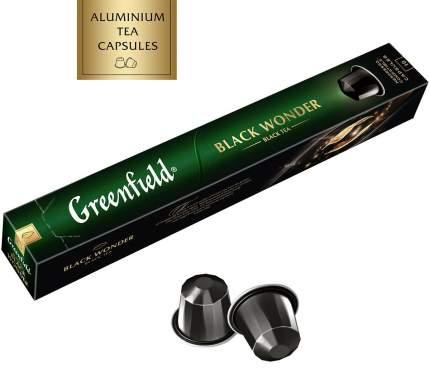 Чай в капсулах Greenfield black wonder 10 капсул