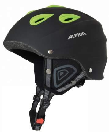 Горнолыжный шлем Alpina Junta 2.0 C 2019, черный/зеленый, L