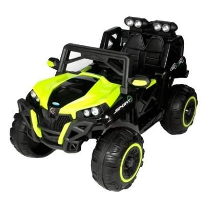 Двухместный электромобиль Barty Buggy  T777MP 4x4, с ЖК монитором, Зелёный