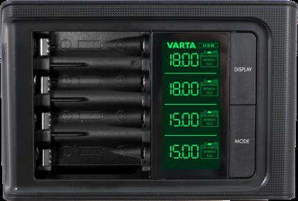 Зарядное устройство Varta LCD Smart
