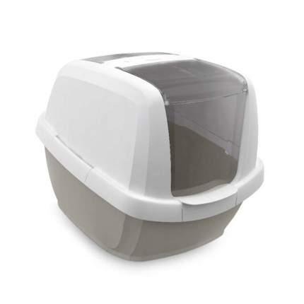 Туалет для кошек IMAC Maddy, прямоугольный, бежевый, серый, 62х49,5х47,5 см