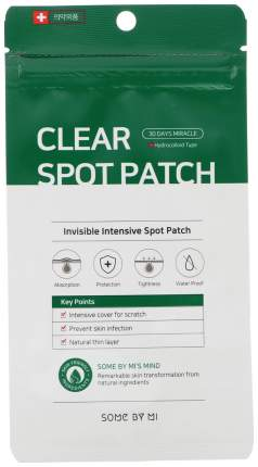 Патчи для очищения кожи Some By Mi Clear Spot Patch 50 г