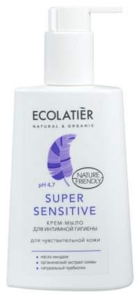Крем-мыло для интимной гигиены ECOLATIER Super Sensitive 250 мл