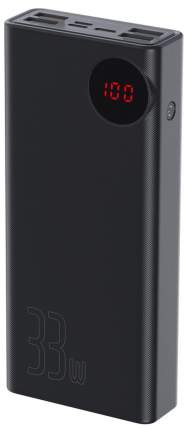 Внешний аккумулятор Baseus Mulight Quick Charge Power Bank 30000mAh Black