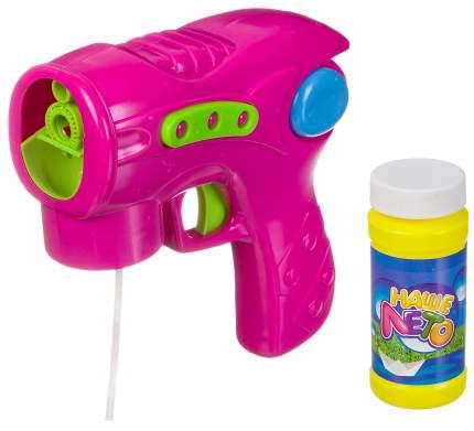 Пистолет с мыльными пузырями Bondibon Наше лето 110 мл ВВ2783