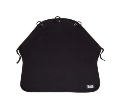 Накидка защитная на коляску и автокресло Pram Curtain Plain Black
