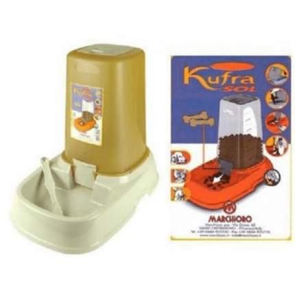 Автокормушка для животных Marchioro Kufra 3, с крышкой, в ассортименте, 33х22х28 см, 3,5 л