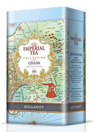 Чай черный крупнолистовой бергамот Imperial tea collection Ceylon Bergamot ж/б 150 г