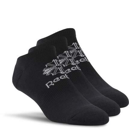 Носки Reebok Classic Foundation No Show 3ppk, black, 13-15 US