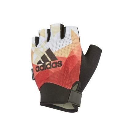 Перчатки для фитнеса Adidas оранжевые