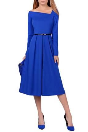 Платье женское FRANCESCA LUCINI F0732-2 синее 48 RU