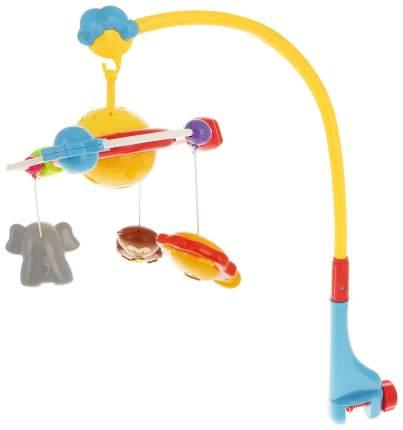 Мобиль Junfa toys Веселые животные со звуковыми и световыми эффектами SL81017A
