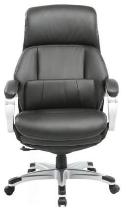 Кресло руководителя Бюрократ _MIRO/BLACK, черный/серый