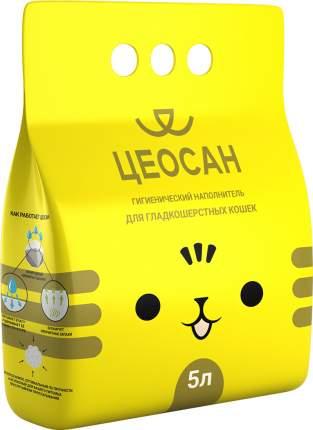Впитывающий наполнитель для кошек Цеосан - цеолитовый, для гладкошерстных, 3.38 кг, 5 л