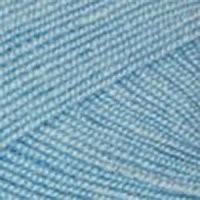 Пряжа для вязания Пехорка Бисерная 5 шт. по 100 г 450 м цвет 005 голубой