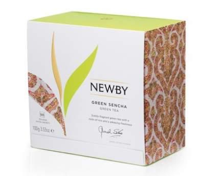 Чай зеленый Newby green sencha 50 пакетиков