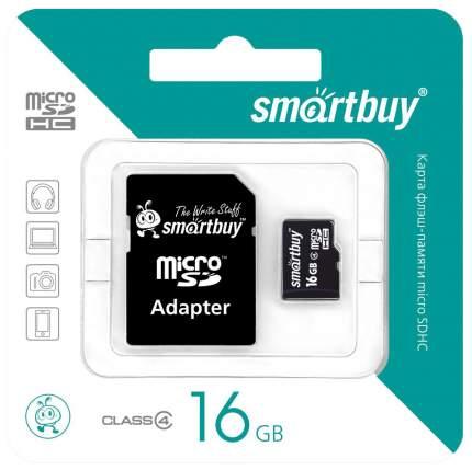 Карта памяти SmartBuy Micro SDHC SB16GBSDCL4 16GB