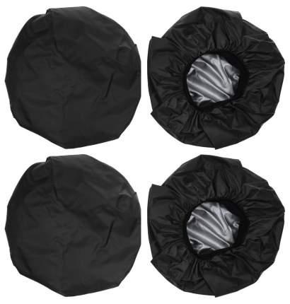 Чехлы на колеса для детской коляски Leader Kids (диаметр колеса до 30 см) Черный
