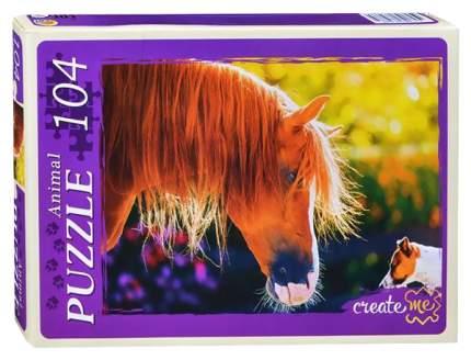 Пазл Рыжий кот Лошадь и пес КБ104-7988