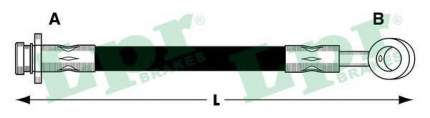 Шланг тормозной системы Lpr 6T47853