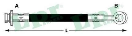 Тормозной шланг Lpr 6T47853