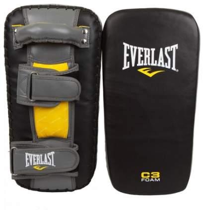 Макивара Everlast Leather Muay Thai Pads черно-серая