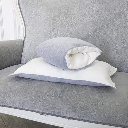 Подушка-трансформер для кормления и укачивания TI AMO МАМА Magic Pillow серый, молочный