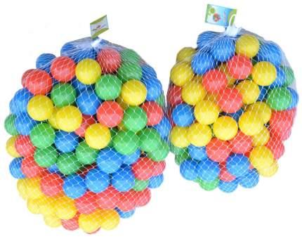 Пластиковые шарики Рыжий кот Выдувка 100 шт. Цветные
