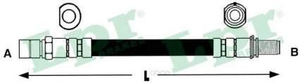 Шланг тормозной системы Lpr 6T46187