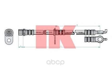 Шланг тормозной системы Nk 8545152 передний правый