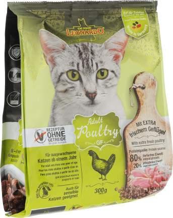 Сухой корм для кошек Leonardo Adult Poultry GF, беззерновой, домашняя птица, 0,3кг