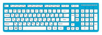 Клавиатура Red Square RSQ-KBWD-002-BL White/Blue