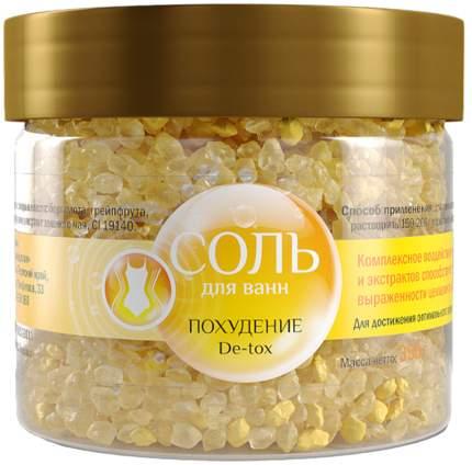 Соль для ванн Dr, Aqua Похудение De-tox 350 г